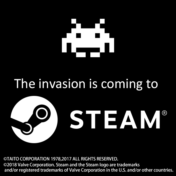 The invasion is coming to STEAM