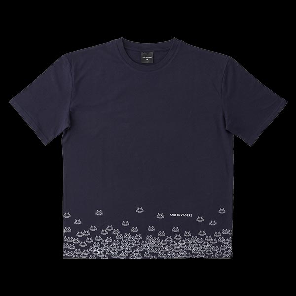 AND-INVADERS Tシャツ