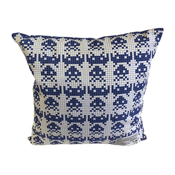 SPACE INVADERS SQUARE CUSHION COVER+PILLOW