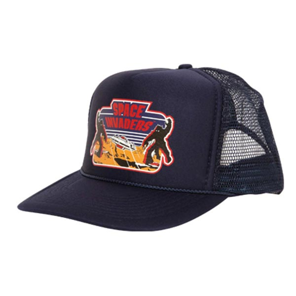 SPACE INVADERS MESH CAP NAVY