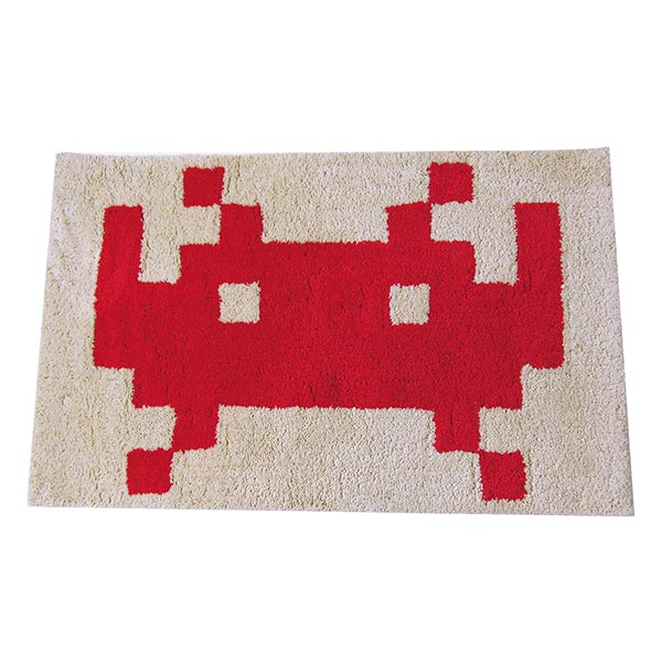SPACE INVADERS RUG Design A