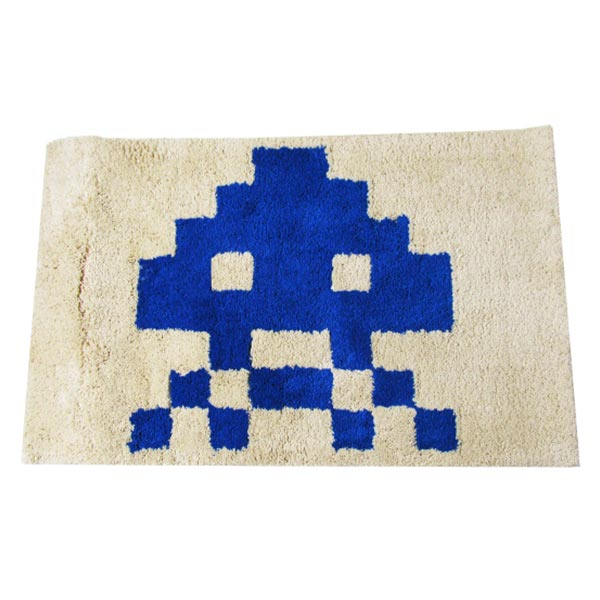 SPACE INVADERS RUG Design B