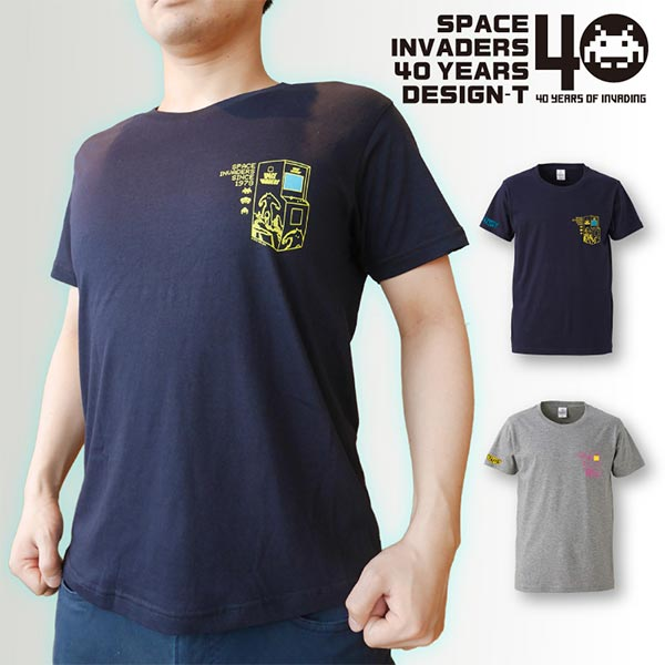 SPACE INVADERS デザイン Tシャツ