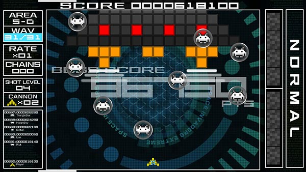 SPACE INVADERS EXTREME(STEAM版)